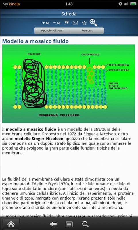 Encyclopedia of Biology - screenshot