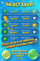 Screenshot of Bubble Bust! HD Bubble Shooter