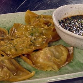 Squid and Pork Dumplings with Dipping Sauce Recipe