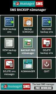 SMS BACKUP n2manager- screenshot thumbnail