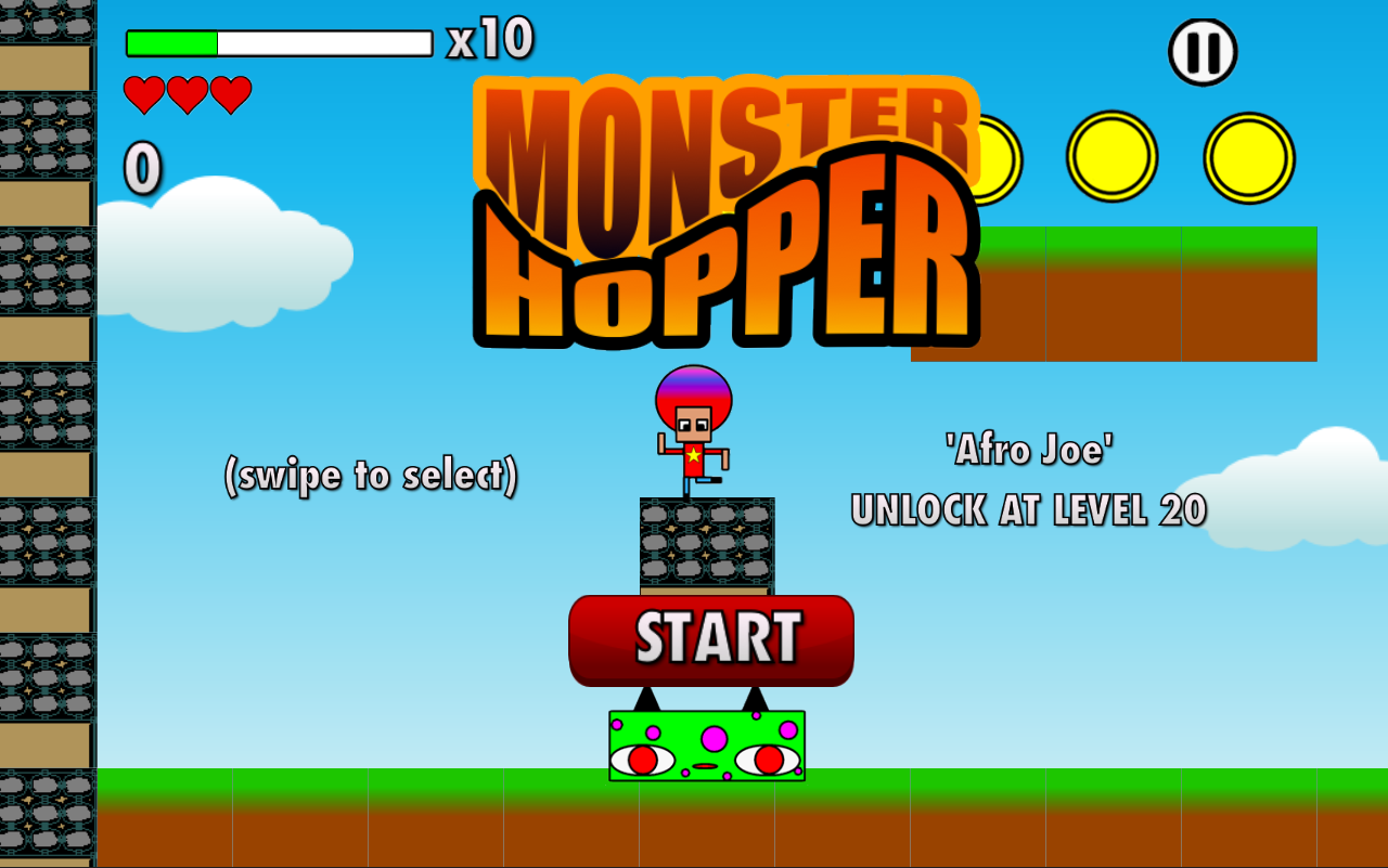 Monster Hopper- screenshot