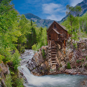 Crystal Mill by Eddie Tuggle - Buildings & Architecture Decaying & Abandoned