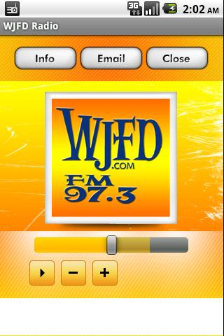 WJFD Radio - screenshot