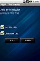 Screenshot of Spam Defense HD