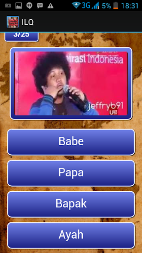 Indonesia Lawak Quiz