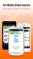 Screenshot of iTel Mobile Dialer Express