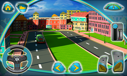 Play 3d Parking School Bus Mania Game Here - A 3d Game on FOG.COM