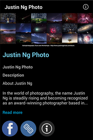 Justin Ng Photography - screenshot