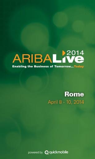 Ariba LIVE 2014 Rome