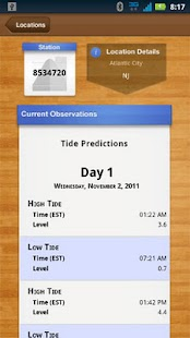 NOAA Ocean Buoys and Tides PRO - screenshot thumbnail