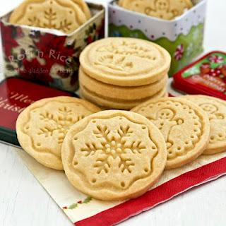 Shortbread Stamped Cookies