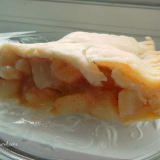 Easy Pear Pie Recipe
