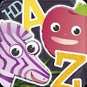 ABC Animal & Veggie Flashcards icon