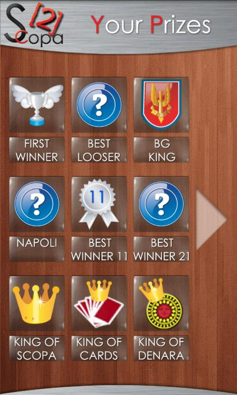 Scopa HD - screenshot
