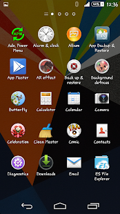 Zig Zag Xperien Theme- screenshot thumbnail