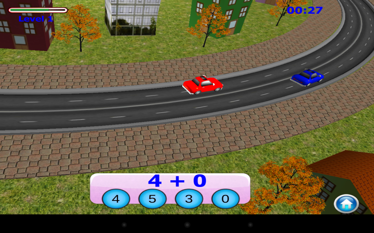Kids Car Racing Numbers Game - screenshot