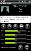 Screenshot of SVOX Polish/Polska Eva Voice
