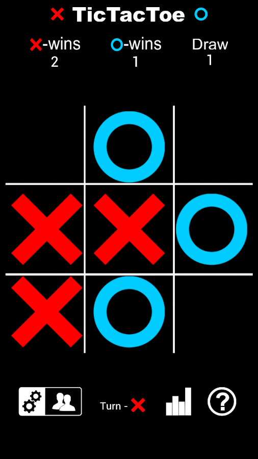 Tic Tac Toe HD - screenshot