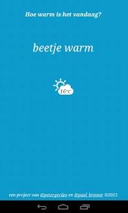 Warmtemeter- screenshot thumbnail