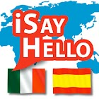 iSayHello Italian - Spanish icon