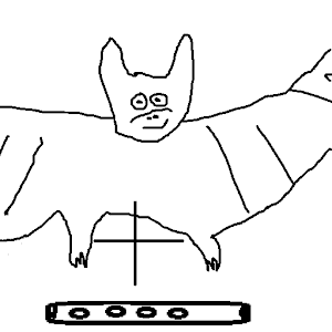 Easy Bat Whistle