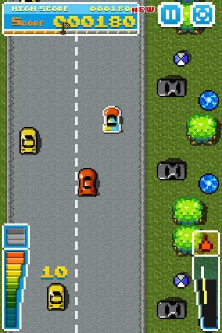 Road Fighter - screenshot