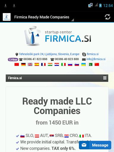 Firmica Ready Made Companies
