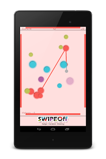 Swipe Off : a moving Dots Game- screenshot thumbnail