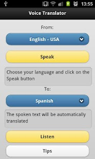 Voice Translator Pro- screenshot thumbnail