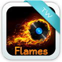 Themed Flames Keyboard icon