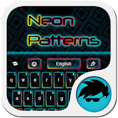 Neon Patterns Keyboard