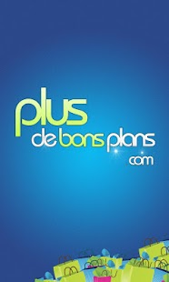Plus De Bons Plans Capture d'écran
