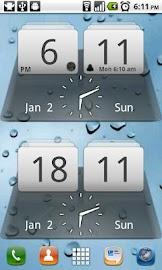 MIUI Digital Weather Clock Screenshot 2