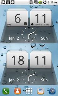 MIUI Digital Weather Clock- screenshot thumbnail