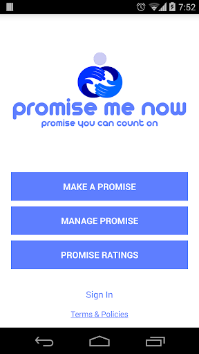 Promise Me Now