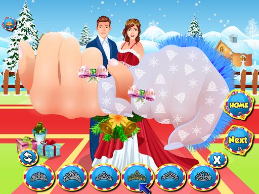 結婚式のカップルクリスマスゲーム