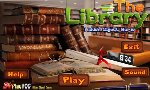 Library - Free Hidden Objects
