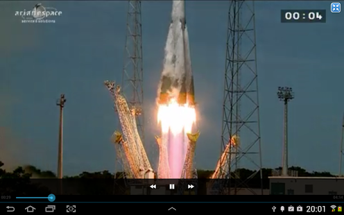 Arianespace HD- screenshot thumbnail