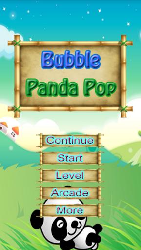 Bubble Panda Pop