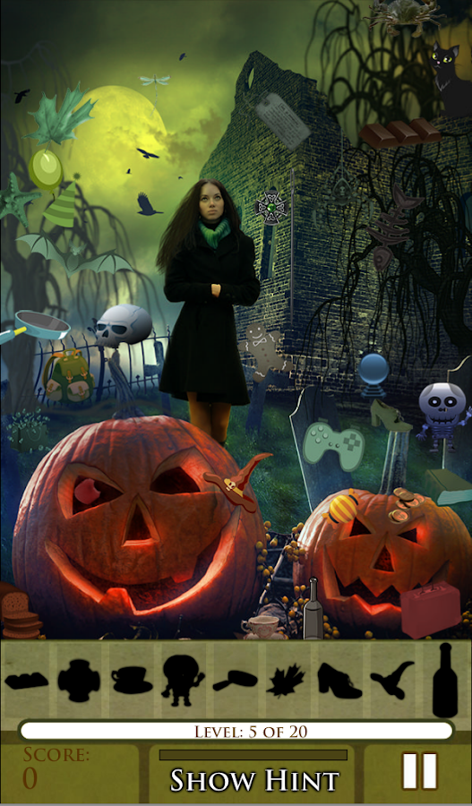 Hidden Object Happy Halloween Android Apps On Google Play