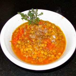 Very Plain Lentil Soup