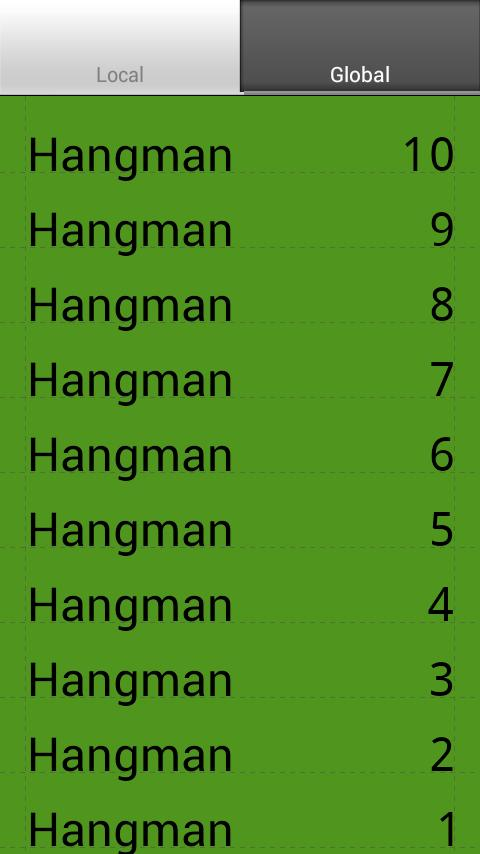 Hangman EN + Multiplayer BT- screenshot