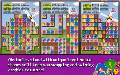 Игра Sugar Drops - Match 3 puzzle для планшетов на Android