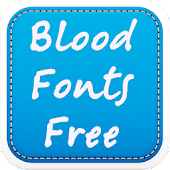 Blood Fonts Free