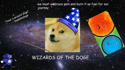Doge King way too bored