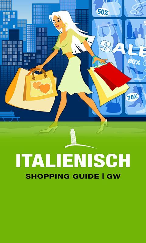 ITALIENISCH Shopping Guide GW- screenshot