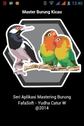 Master Burung Kicau