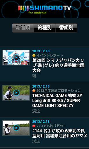 SHIMANO TV SHORTCUT
