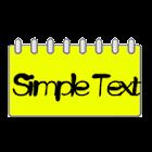 Simple Text Calendar Widget icon