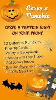 Screenshot of Carve a Pumpkin!
